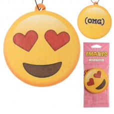 Cherry Fragranced Heart Eyes Emotive Air Freshener