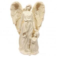 Decorative Angel Mother and Child Figurine
