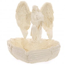 Decorative Angel Wings Cream Trinket Bowl