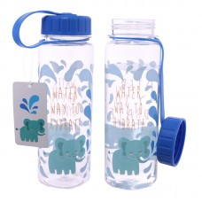 Funky Elephant Design 500ml Bottle