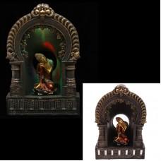 Decorative LED Thai Buddha Back Flow Incense Burner
