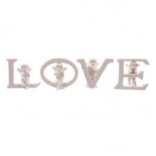 Cute Cherub LOVE Letters Ornament