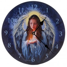 Decorative Fantasy Guardian Angel Wall Clock