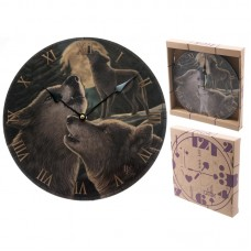 Fantasy Wolf Song Decorative Wall Clock