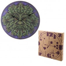 Decorative Fantasy Greenman Wall Clock