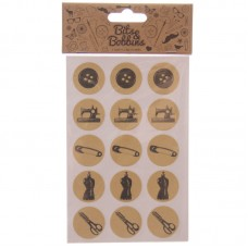 Creative Craft Pack - 60 Sewing Stickers