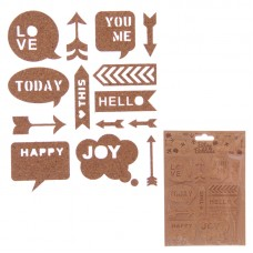 Creative Craft Pack - Assorted Cork Stickers