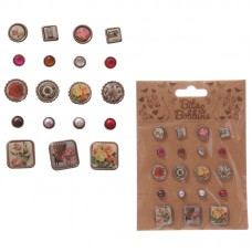Creative Craft Pack - Assorted Jewelled Pins