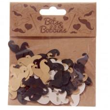 Creative Craft Pack - Moustache Confetti