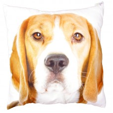 Decorative Beagle Print Cushion