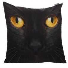 Decorative Black Cat Cushion