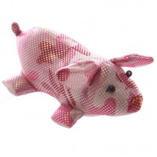 Novelty Sand Filled Pink Piggy
