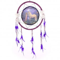 Decorative Fantasy Unicorn Garden 34cm Dreamcatcher