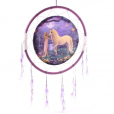 Decorative Fantasy Unicorn Garden 60cm Dreamcatcher
