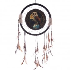 Decorative Magical Barn Owl 34cm Dreamcatcher
