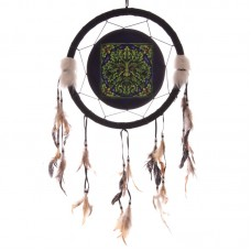 Decorative Fantasy Greenman Dreamcatcher Medium