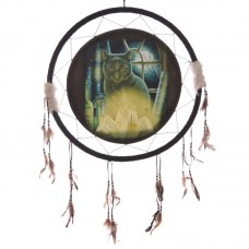 Decorative Magical Bewitched Cat Design 62cm Dreamcatcher