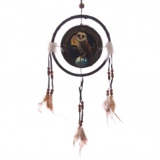 Decorative Magical Barn Owl 16cm Dreamcatcher