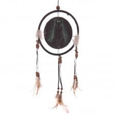 Decorative Fantasy Black Cat Dreamcatcher Small