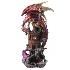 Dragon Castle Dark Legends Dragon Figurine