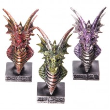 Dark Legends Dragon Head Ornament