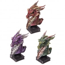 Dark Legends Dragon Head Ornament - Medium