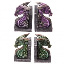 Dark Legends Dragon Head Book Ends