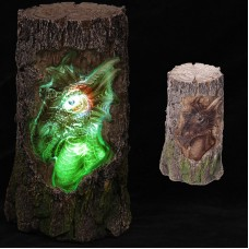 Dark Legends Dragon Carving Light Up LED Tree