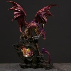 Crystal Cave Dark Legends Dragon LED Figurine