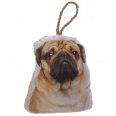 Cute Pug Design Polyester Door Stop
