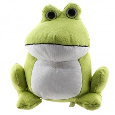 Cute Green Frog Design Door Stop
