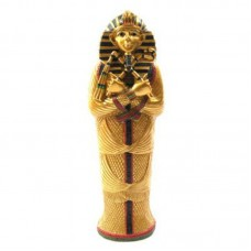 Decorative Gold Egyptian Tutankhamen Sarcophagus Trinket Box