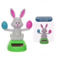 Fun Easter Bunny Rabbit Solar Powered Pal