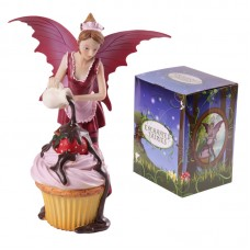 Enchanted Fairies Figurine - Chocolate Cupcake