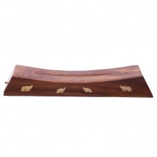 Decorative Sheesham Wood Incense Stick Elephant Box