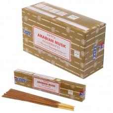 Satya Nag Champa Incense Sticks - Arabian Musk