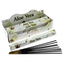 Stamford Hex Incense Sticks - Aloe Vera