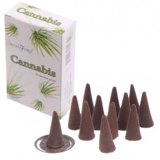 Stamford Hex Incense Cones - Cannabis