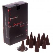 Stamford Black Incense Cones - Demons Lust
