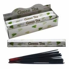 Stamford Hex Incense Sticks - Green Tea