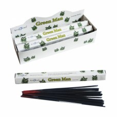 Green Man Stamford Hex Incense Sticks