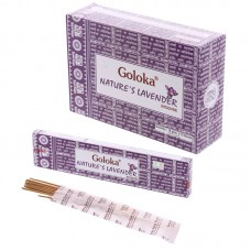 Goloka Incense Sticks - Natures Lavender