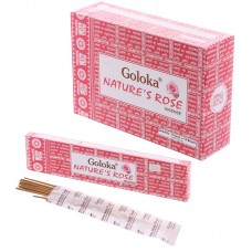 Goloka Incense Sticks - Natures Rose