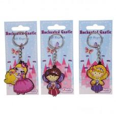 Fun Fairy Princess PVC Keyring