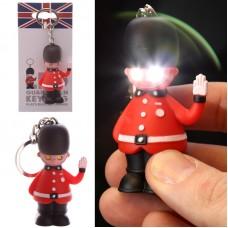 Rule Britannia Light and Sound Guardsman Keyring