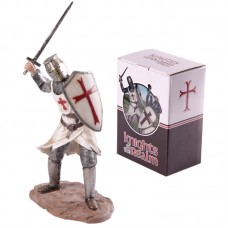 Knights of the Realm Figurine - Attacking Sword and Shield