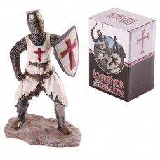 Knights of the Realm Figurine - Knight with Mace and Shield