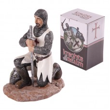 Knights of the Realm Figurine - On One Knee with Sword