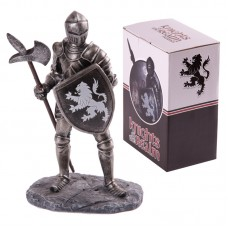 Knights of the Realm Figurine - Black Knight with Poleaxe