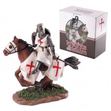 Knights of the Realm Figurine - Mounted Carrying Sword